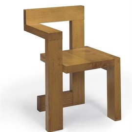 Gerrit Rietveld - Oak 'Steltman' Chair