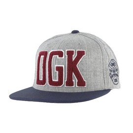 DGK - DUGOUT SNAPBACK (Ath Heather/Navy)