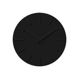 ±0 - Wall Clock - Black