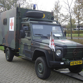 Mercedes-Benz - Utrecht: G-Klasse Military Ambulance