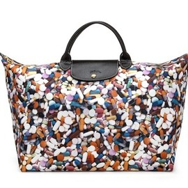 LONGCHAMP - Le Pliage® CAPSULE PRINT designed by Jeremy Scott