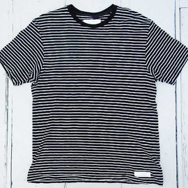 UNDERCOVERISM  - Damaged Border Stripe T-shirt
