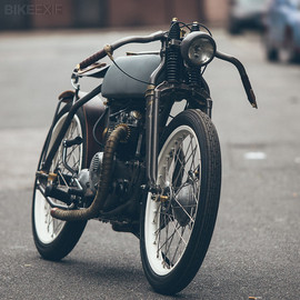 Untitled Motorcycles - Triumph T100 SS