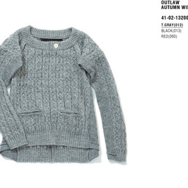 ENSOR CIVET - 2013AW collection knit pullover