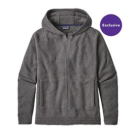 patagonia - M's Recycled Cashmere Hoody Sweater, Feather Grey (FEA)