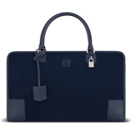 LOEWE - amazona 44 bag navy blue - Men's Bags