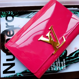 LOUIS VUITTON - pink bag.