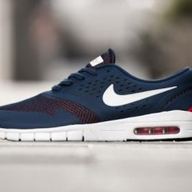 NIKE SB - NIKE SB ERIC KOSTON 2 MAX MIDNIGHT NAVY/WHITE-LIGHT CRIMSON