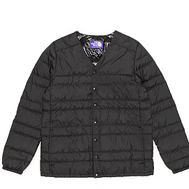 THE NORTH FACE PURPLE LABEL - Down Cardigan-Black
