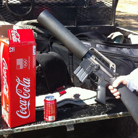 X Products - AR15 Soda Can Launcher