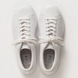 NIGO × ADIDAS ORIGINALS STAN SMITH RUNNING WHITE/CREAM WHITE