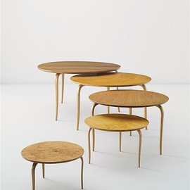 Bruno Mathsson - Birch Tables for Karl Mathsson, 1960s.