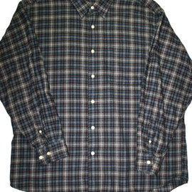 L.L.Bean - Vintage LL Bean Plaid Flannel Shirt Mens Size Large