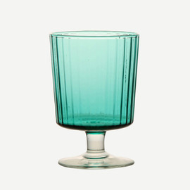 THE CONRAN SHOP - WS OPTIC WHITE WINE GLASS - LEAF GREEN