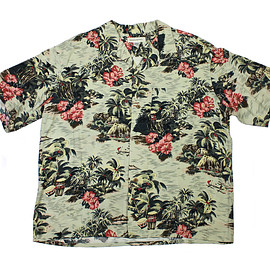 VINTAGE - Vintage Banana Republic Rayon Hawaiian Shirt Mens Size XL