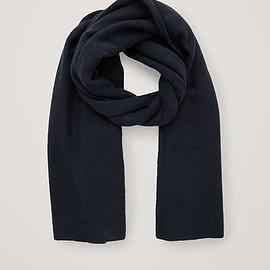 Cos - cashmere scarf in blue