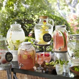 Pottery Barn - Vallarta Outdoor Drink Dispenser