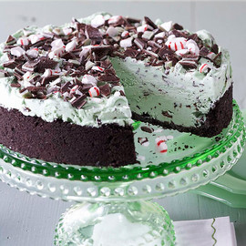 Triple Mint Ice Cream Dessert