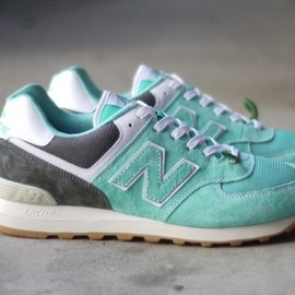 new balance - mita sneakers x OSHMAN'S x New Balance ML574   Mojito