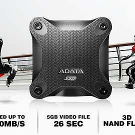 ADATA - SD600 - Black