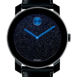MOVADO - Movado 'Bold' Round Leather Strap Watch $495.0 by nordstrom