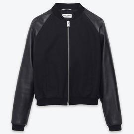 Saint Laurent - Classic Baseball Jacket