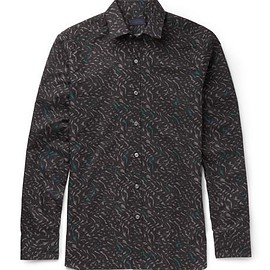 Lanvin - Slim-Fit Printed Cotton Shirt