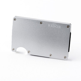 THE RIDGE - the RIDGE Aluminum Silver No Clipカードケース
