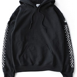 TOGA ODDS&ENDS - Print Sweat Parka (black)