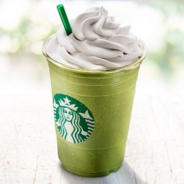Starbucks - Soy Matcha Cream Frappuccino® with Soy Whipped Cream