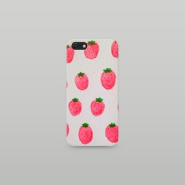soramamemo - strawberry berry. iPhoneケース