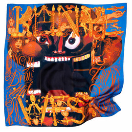 Kanye West x George Condo x M/M Paris  - Silk Scarf