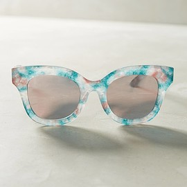 Anthropologie - Marble Mirrored Sunglasses