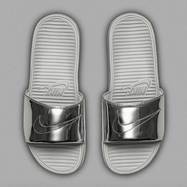"Nike - Benassi Solarsoft Slide SP ""Liquid Metal"""