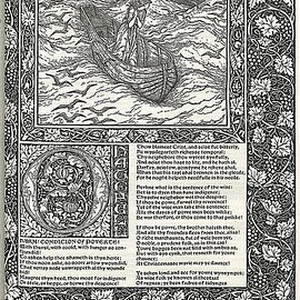 "William Morris - ""The Works of Geoffrey Chaucer"" published by William Morris, Illustrations by Edward Burne-Jones"