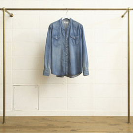 UNUSED - NO COLLAR DENIM SHIRTS (US0961)