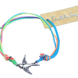Daniella Sigurd Jewellery - Rainbow Swallow Friendship bracelet