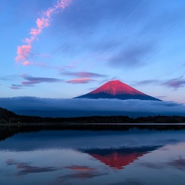Agustin Rafael Reyes - The Red Fuji