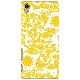 SECOND SKIN - kion 「flower yellow」 / for Xperia Z5 SOV32/au