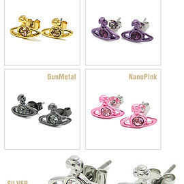 Vivienne Westwood - 【'15春夏新着】【新品】Vivienne Westwood ナノソリティアピアス NANO SOLITAIRE EARRINGS 15_ss_er_14