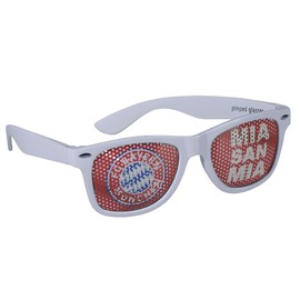 FC Bayern Fan glasses Mia san mia
