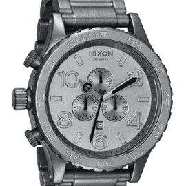 nixon - 51-30 CHRONO ALL RAW STEEL