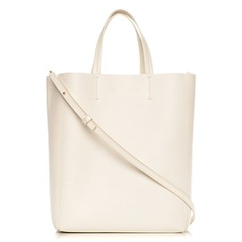 CELINE - Small Vertical Cabas in Cream Grained Calfskin