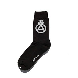 PEEL&LIFT - circleA sox / black