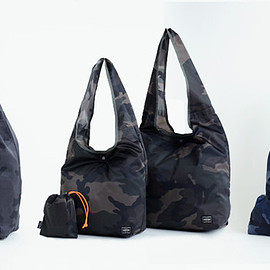 PORTER - CAMOUFLAGE PACKABLE SHOPPING BAG