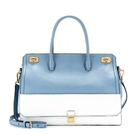 miu miu - SS2014 TWO-TONE LEATHER TOTE