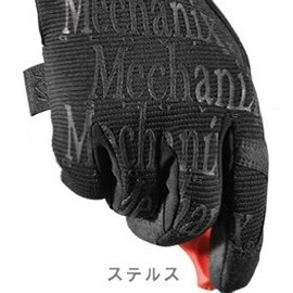 *MECHANIX* the original glove BL special (black/reflector)