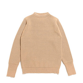 ANDERSEN-ANDERSEN - Sailor Crew Neck Knit-Camel