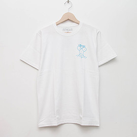 cup and cone - Bikeage Tee - White