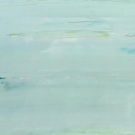 gerhard richter - abstract  painting (911-4)